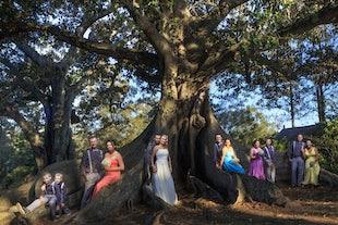 wedding ~ John & Kylie - *** assisting Melissa Evans Photography *** Old Petrie Town Wedding ~ September 2016
