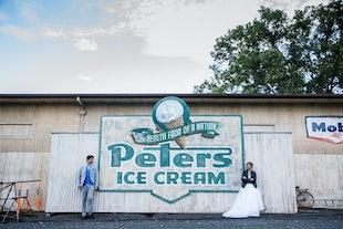 wedding ~ Nathan & Candace - The Barn & Scotty's Garage Wedding ~ November 2017
