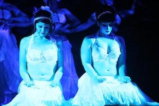 sur scène ~ Cirque de Serpentine