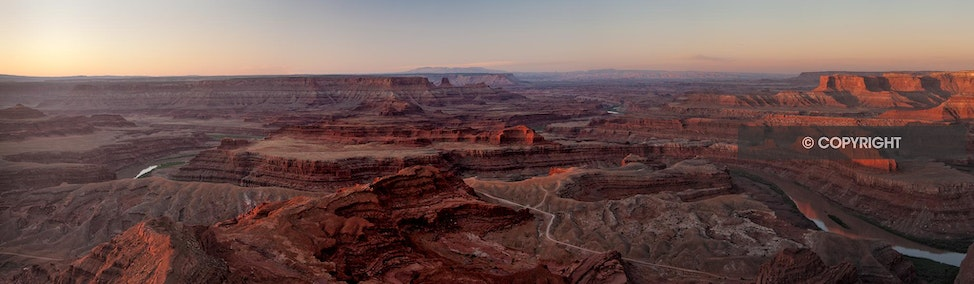 Sunrise - Dead Horse Point State Park, UT