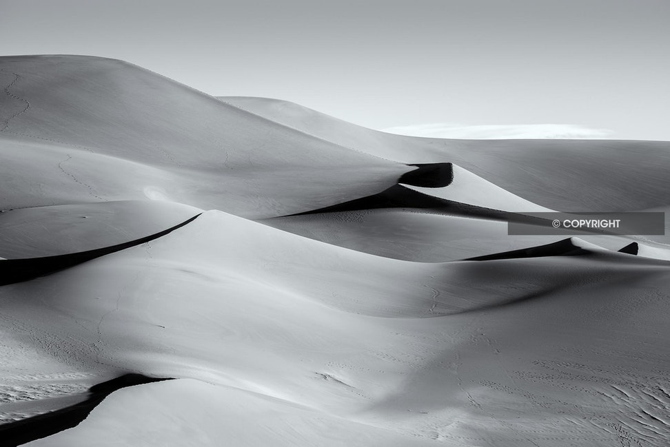 Sun & Shadow - Great Sand Dunes National Monument, CO