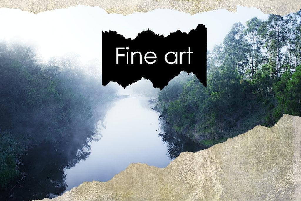 Fine art home page
