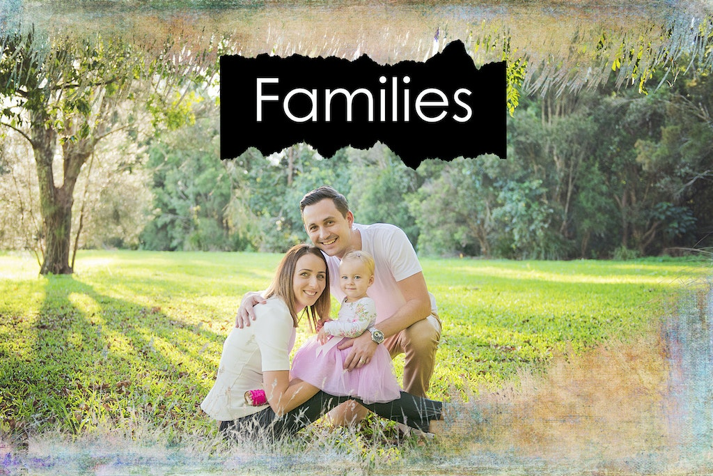 Families home page shot 2