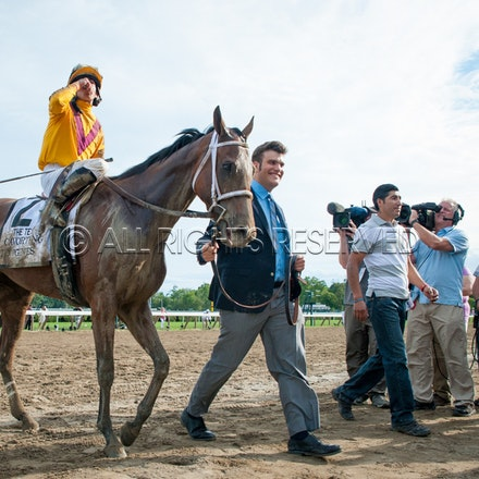 Race Day, Cavorting, Irad Ortiz Jnr_08-08-15, Saratoga, WIN_0217