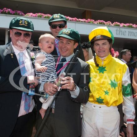 Race 3, Craig Williams, Owners_06-11-14, Flemington_Sharon Chapman_279