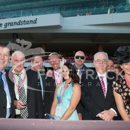 Race 9, Aurum Spirit, Owners_06-11-14, Flemington_Grp 1 Crown Oaks, Sharon Chapman_637