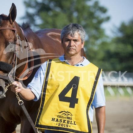 Race 12, American Pharoah_02-08-15, Haskell, Monmouth Park, WIN_0269