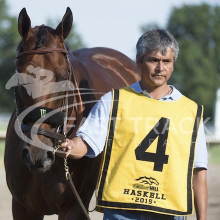 Race 12, American Pharoah_02-08-15, Haskell, Monmouth Park, WIN_0274