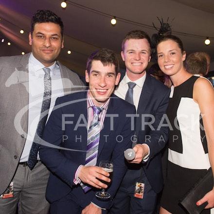 Melbourne Cup Barrier Draw, Ben Hayes & Jacinta Jenkins_31-10-15, Flemington,_0076
