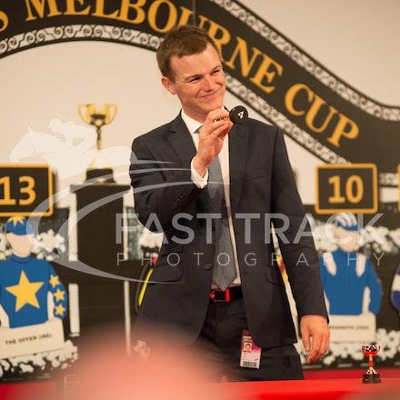 Melbourne Cup Barrier Draw, Ben Hayes_31-10-15, Flemington,_0052