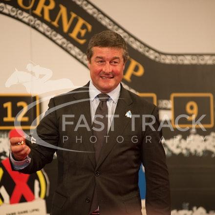 Melbourne Cup Barrier Draw, Darren Beadman_31-10-15, Flemington,_0036