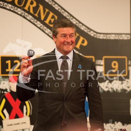 Melbourne Cup Barrier Draw, Darren Beadman_31-10-15, Flemington,_0037