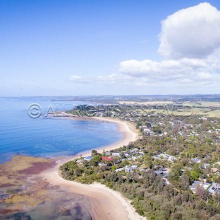 Balnarring Beach, Aerial_03-12-16, Sharon Chapman_263