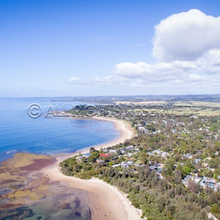 Balnarring Beach, Aerial_03-12-16, Sharon Chapman_261
