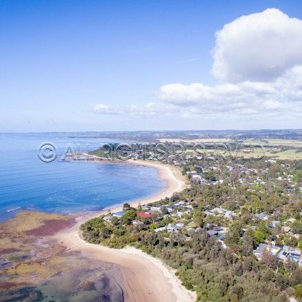 Balnarring Beach, Aerial_03-12-16, Sharon Chapman_262