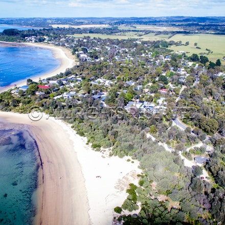 Balnarring Beach, Aerial_03-12-16, Sharon Chapman_265