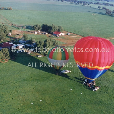 Hot Air Ballooning | 1998 - Getting in the air during 1998 ....