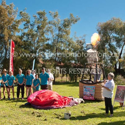 April 4 | 2017 - Media launch for the 2017 Canowindra International Balloon  Challenge event.