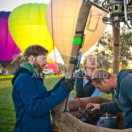 April 18 | 2017 - Launch - Day 1 of the Canowindra Balloon Challenge - Morning Flight