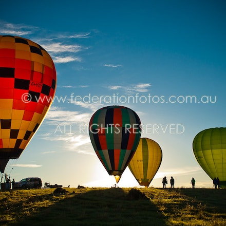 April 20 | 2017 - Launch - Day 3 of the Canowindra Balloon Challenge - Morning Flight