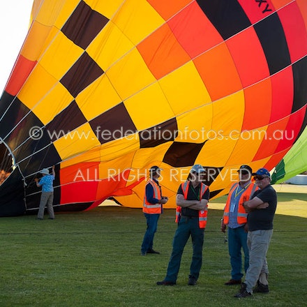 April 18 | 2017 - pm - Day 1 of the Canowindra Balloon Challenge - Afternoon Flight
