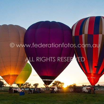 April 24 | 2017 - am - Final flight Canowindra Balloon Challenge, The Key Grab