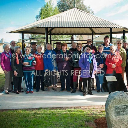 June 24 | 2017 - The Margot Chick Memorial and Gazebo were officially unveiled in their new place at Morris Park, Canowindra