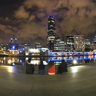 Melbourne - The city of Melbourne in colour. Available here!