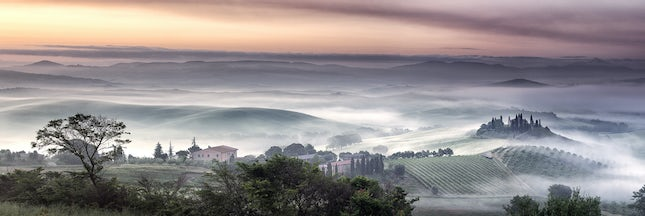 Foggy Dawn Val DOrcia - Silver medal and 36th overall at the Epson International Panorama awards 2014.Gold medal at the Victorian AIPP awards, Silver medal...