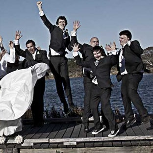 Iain and Lisa - Wedding of Iain and Lisa near Geelong. Photos by Vicki Moritz and Rosemary Grant