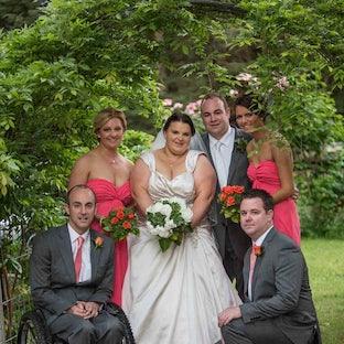 Stuart and Megan - Wedding of Stuart and Megan in Buxton. Photos by Vicki Moritz and Julia Foletta