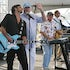 Atlantic City Hilton Beach Concert  - Actor John Stamos (NBC Hit Seies E.R.) performing with the Beach Boys in front of  to a crowd of 50,000 + who had...
