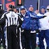 NFL NFC Palyoff Game Philadelphia Eagles vs. New York Giants   - New York Giants Head Coach Tom Coughlin reacts to a call  during the NFC Divisional Playoff...