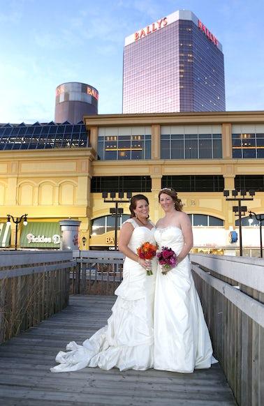 _EB36380aa - ATLANTIC CITY, NJ_November_22: The Wedding of Trish & LJ at Bally's Atlantic City on Saturday November 22, 2014 Photo: Tom Briglia/ PhotoGraphics