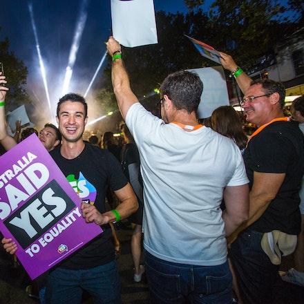 Marriage Equality-Mardi Gras 18