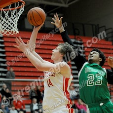 SB Washington vs. Crown Point - 1/2/16 - Crown Point defeated South Bend Washington 68-60 on Saturday afternoon (1/2) in Crown Point.  Grant Gelon scored...