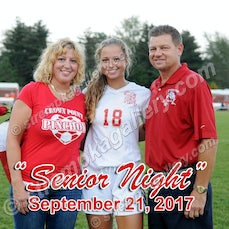 Crown Point Girls' Soccer Senior Night - 9/21/17 - View 7 images from Crown Point Girls' Soccer Senior Night - 9/21/17
