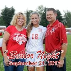 Crown Point Girls' Soccer Senior Night - 9/21/17 - View 7 images from Crown Point Girls' Soccer Senior Night - 9/21/17