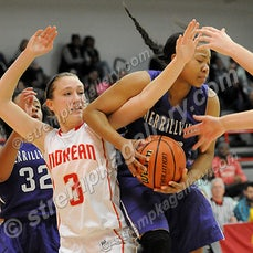 Merrillville vs. Andrean - 11/15/14 - Merrillville held on to defeat Andrean 45-40 in a physical contest at Andrean on Saturday evening (11/15).  Merrillville's...