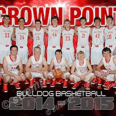 Crown Point Banner and Team Shoot - 11/13/14 - Crown Point banner and team photo samples from Media Day photo shoot