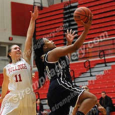 Michigan City vs. Crown Point - 1/12/15 - Michigan City held off a furious late rally from Crown Point to defeat the Bulldogs 55-50 on Monday evening (1/12)...
