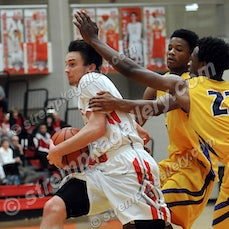 South Bend Clay vs. Crown Point - 1/17/15 - Crown Point defeated South Bend Clay 88-84 in double overtime on Saturday evening (1/17) in Crown Point.  Nick...