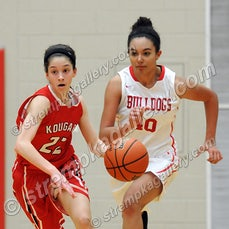 Kankakee Valley vs. Crown Point - 1/20/15 - Crown Point was a 43-26 winner over Kankakee Valley on Tuesday evening (1/20) in Crown Point.  Hannah Albrecht...