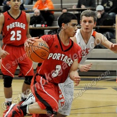 Portage vs. LaPorte (IHSAA Sectionals) - 3/3/15 - Portage was a 61-47 winner over LaPorte in the opening round of IHSAA Sectional play on Tuesday evening...
