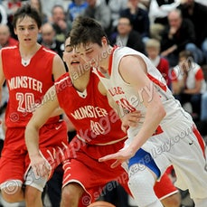 Munster vs. Crown Point - 3/14/15 - Crown Point was a 58-50 Regional Semi-final winner over Munster on Saturday afternoon (3/15) in Michigan City.  Grant...