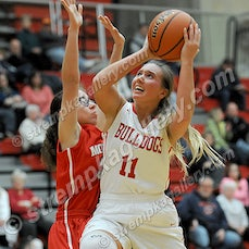 Morton vs. Crown Point - 1/5/16 - Crown Point was a 75-63 winner over Hammond Morton on Tuesday evening (1/5) in Crown Point.  Sydney Taylor scored 29...