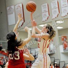 Munster vs. Crown Point - 1/14/16 - Crown Point was a 51-26 winner over Munster on Thursday evening (1/14) in Crown Point.  Megan Morgan celebrated Senior...