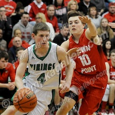 Crown Point vs. Valpo - 2/12/16 - Valpo completed it's second straight undefeated home season with a 66-53 win over Crown Point on Friday evening (2/12)...