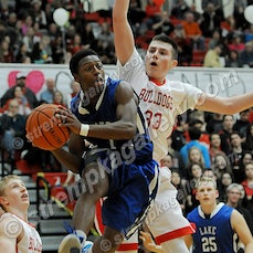 Lake Central vs. Crown Point - 2/19/16 - Crown Point surged to a 41-18 halftime lead and defeated Lake Central 60-44 on Friday evening (2/19) in crown...