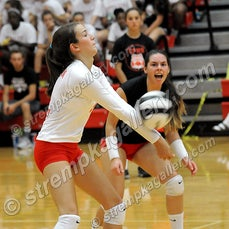 Munster vs. Crown Point - 8/17/16 - Crown Point was a four set winner over Munster on Wednesday evening (8/17) in Crown Point.  Scores were:  25-18, 25-17,...